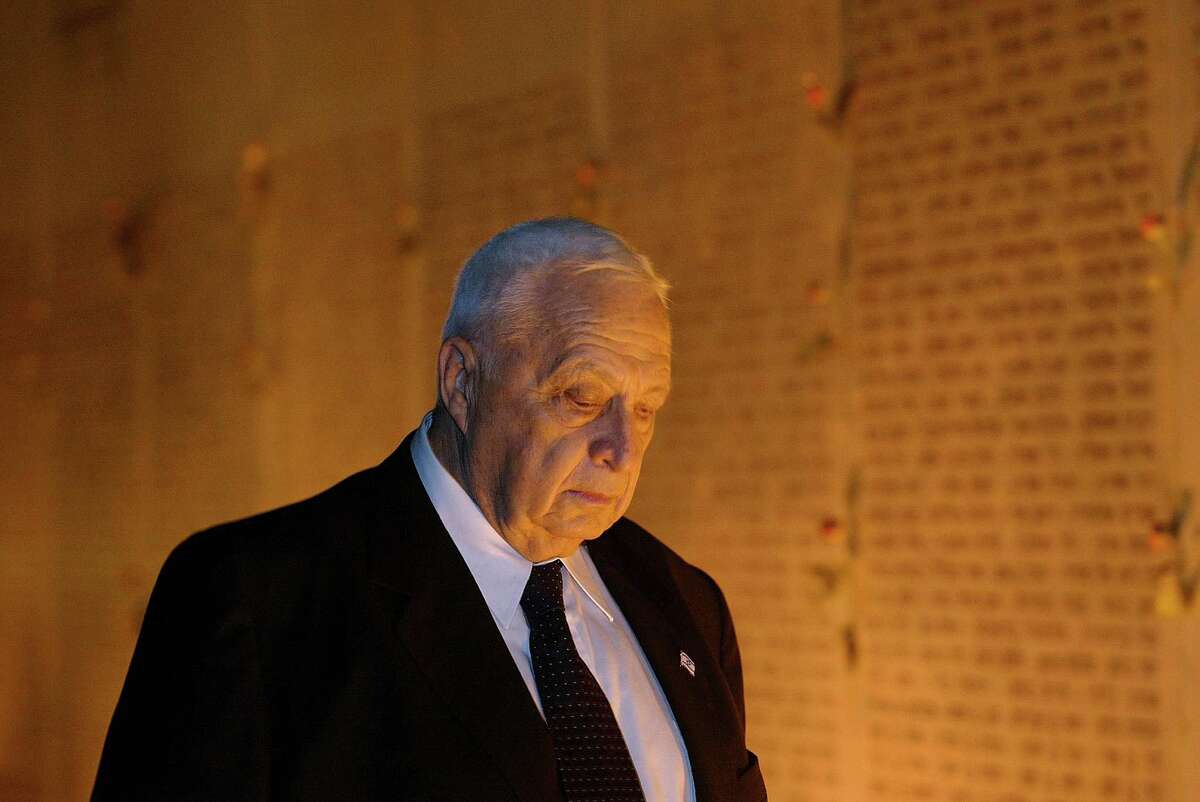 Former Israeli Prime Minister Ariel Sharon died Saturday at 85.