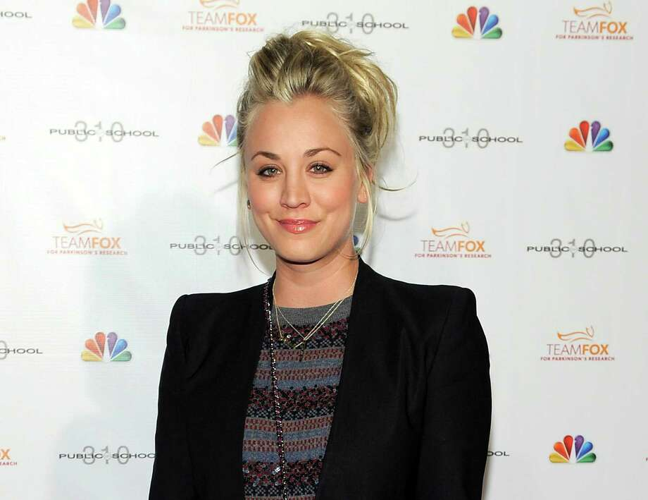 "FILE - This Dec. 5, 2012 file photo shows actress Kaley Cuoco at the Raising the Bar to End Parkinsons fundraising event at Public School 310 in Culver City, Calif. ""The Big Bang Theory"" star, Cuoco, is starting 2014 off as a Mrs. The 28-year-old actress wed 26-year-old tennis pro, Ryan Sweeting, in a New Year's Eve ceremony in Calif, her rep confirms. (Photo by Chris Pizzello/Invision/AP, file) ORG XMIT: CAET600 Photo: Chris Pizzello / Invision"