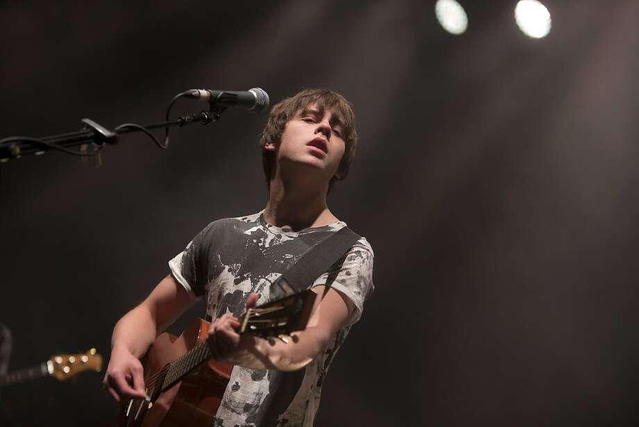 "English singer-songwriter Jake Bugg came to America to record ""Shangri La"" with producer Rick Rubin. Photo: Joel Ryan, Associated Press"