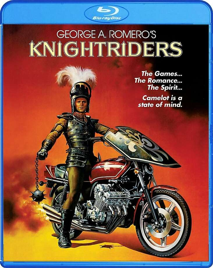 "blu-ray cover: ""Knightriders"" Photo: Shout! Factory, Amazon.com"