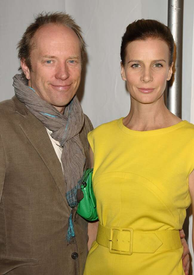 Actress Rachel Griffiths married Australian artist Andrew Taylor on December 31, 2002 in Australia. Photo: Jason LaVeris, FilmMagic