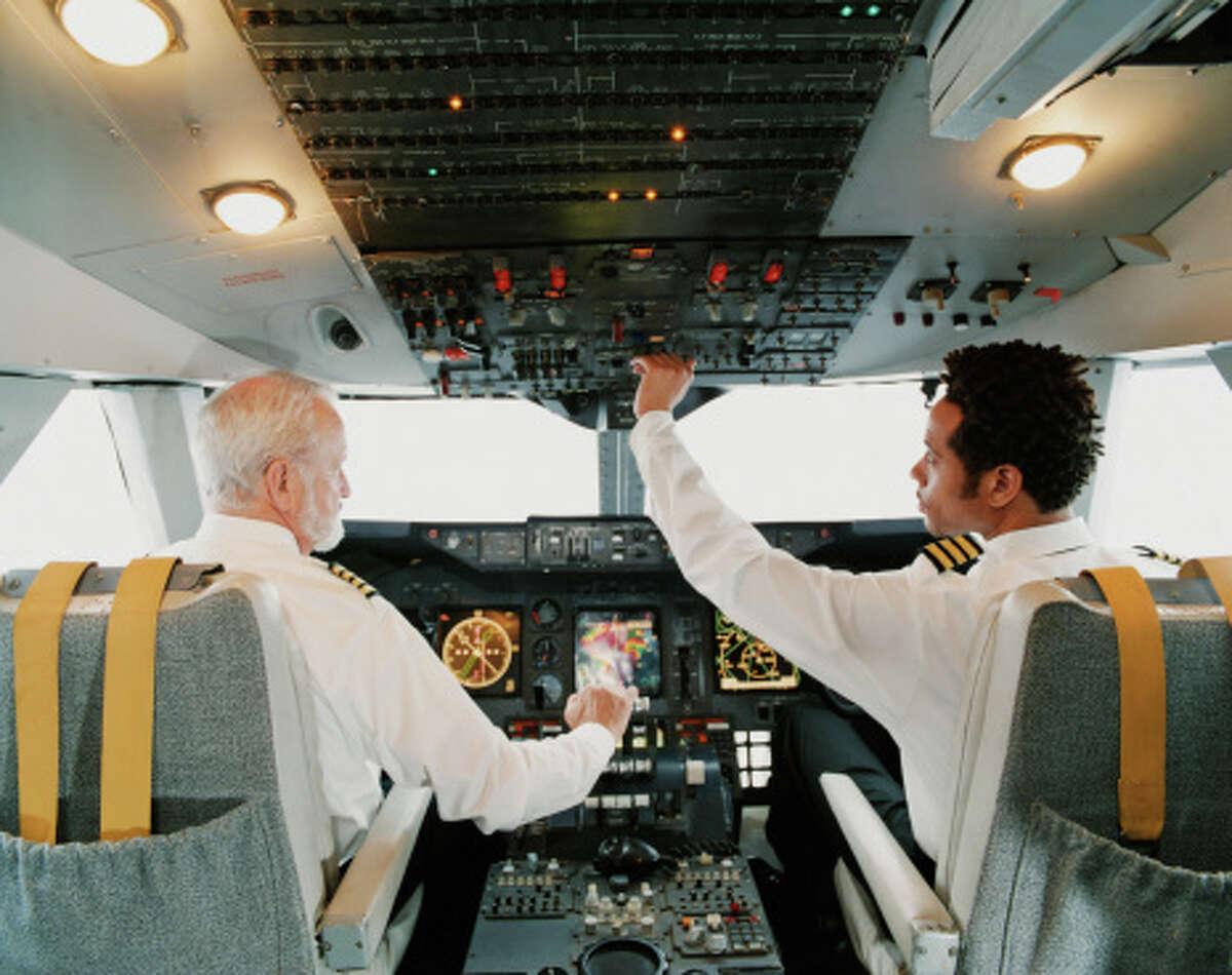 3. Airline pilot Median salary: $103,390