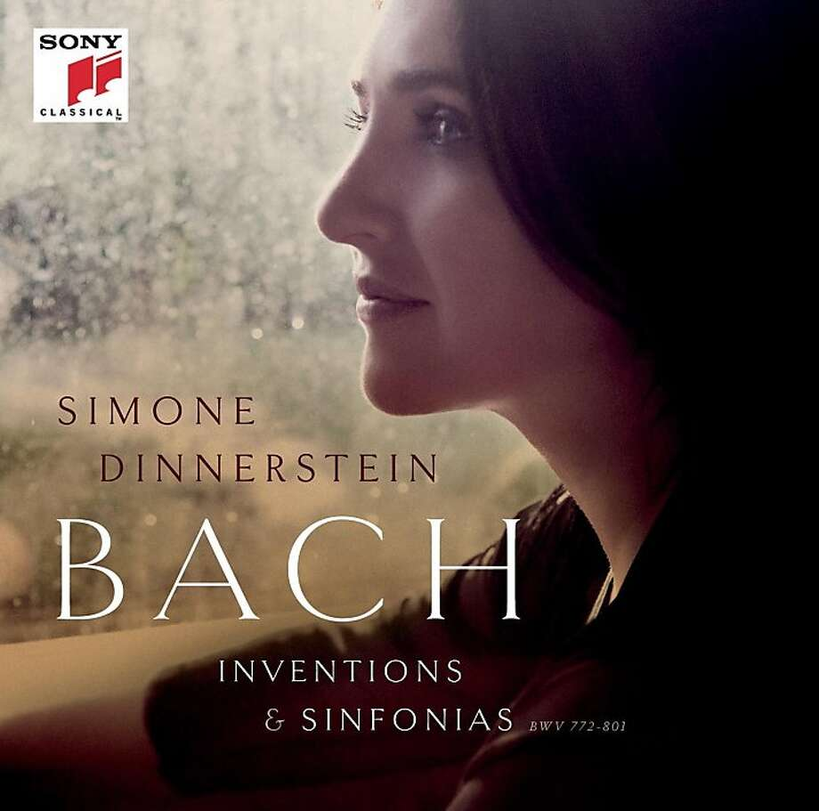 "cd cover: ""Bach: Inventions and Sinfonias"" performed by Simone Dinnerstein Photo: Sony Classical, Amazon.com"