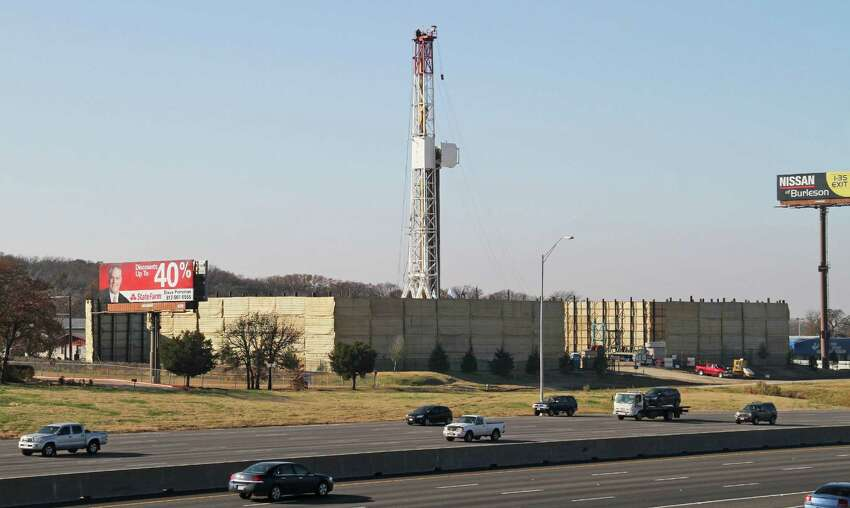 A Vantage Energy natural gas rig in southwest Arlington helps Tarrant County top the list of the most Natural Gas produced at 58.1 billion cubic feet.