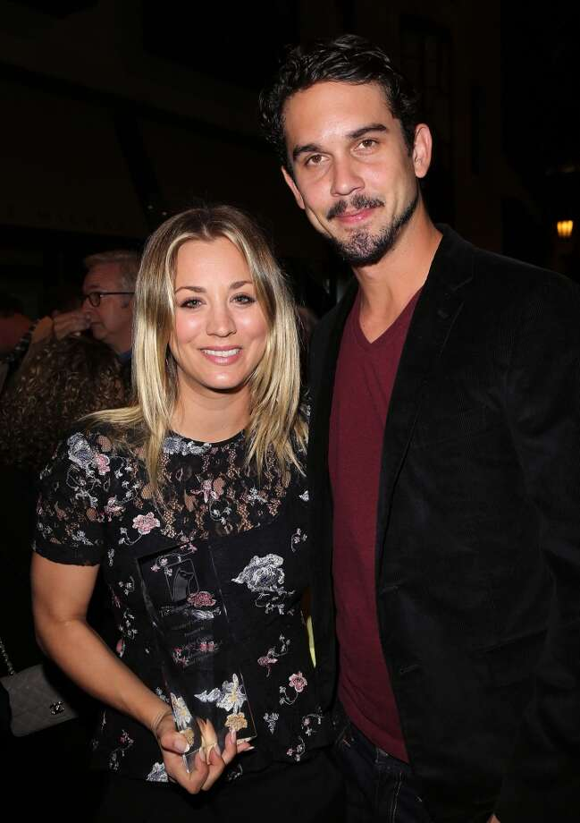 Actress Kaley Cuoco (L) and  professional tennis player Ryan Sweeting were married on New Year's Eve 2013. Photo: David Livingston, Getty Images