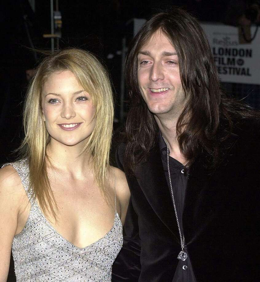 Actress Kate Hudson and musician Chris Robinson were married on New Year's Eve 2000 in Aspen, Colo. They divorced in 2007. Photo: HUGO PHILPOTT, AFP/Getty Images
