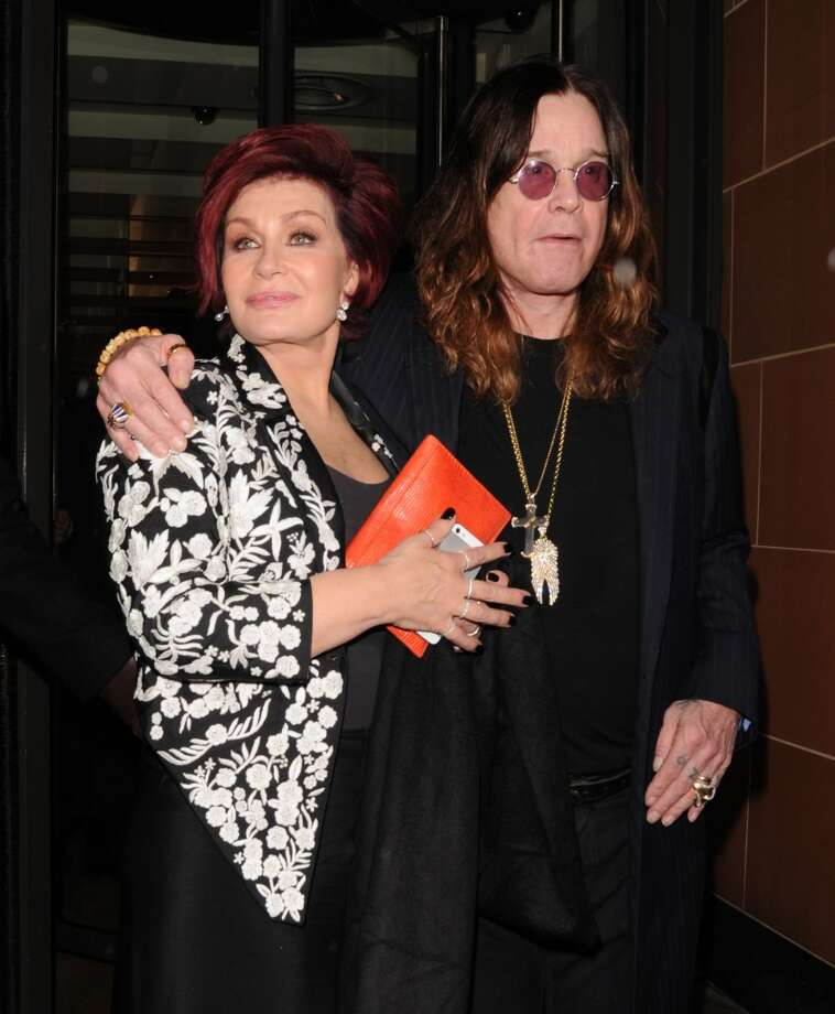 Sharon Osbourne and Ozzy Osbourne originally wed on July 4, 1982, but they renewed the vows on New Year's Eve in 2002. Photo: Sylvia Linares, FilmMagic