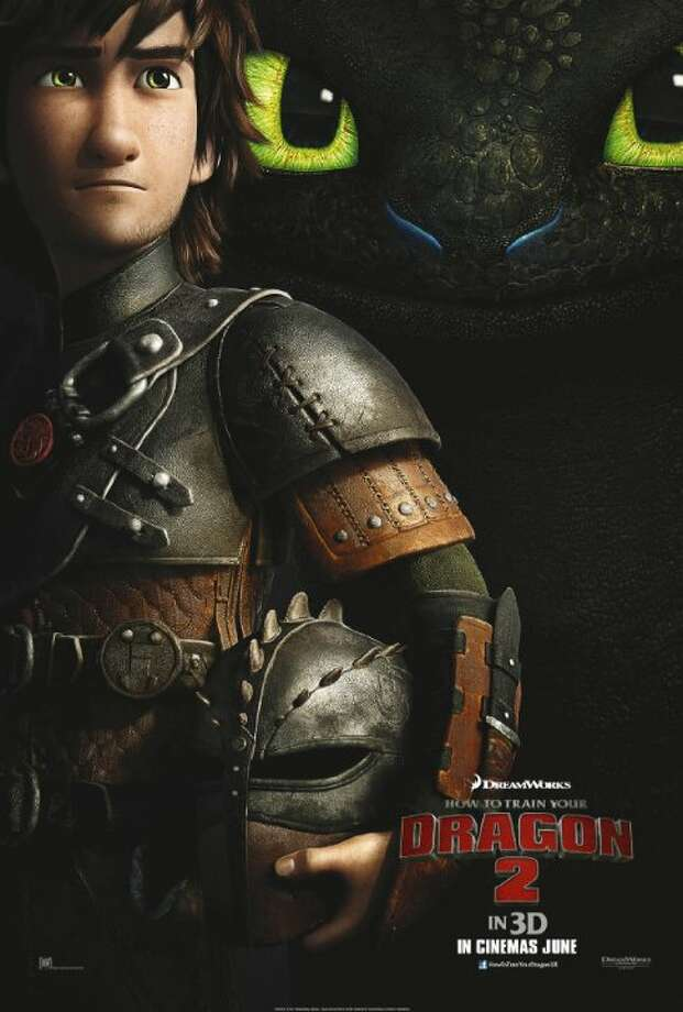 How to Train Your Dragon 2Starring: Jay Baruchel, Kristen Wiig, America FerreraRelease date: June 13It's been five years since Hiccup and Toothless successfully united dragons and vikings on the island of Berk. While Astrid, Snoutlout and the rest of the gang are challenging each other to dragon races (the island's new favorite contact sport), the now inseparable pair journey through the skies, charting unmapped territories and exploring new worlds. When one of their adventures leads to the discovery of a secret ice cave that is home to hundreds of new wild dragons and the mysterious Dragon Rider, the two friends find themselves at the center of a battle to protect the peace. Now, Hiccup and Toothless must unite to stand up for what they believe while recognizing that only together do they have the power to change the future of both men and dragons. Photo: Contributed