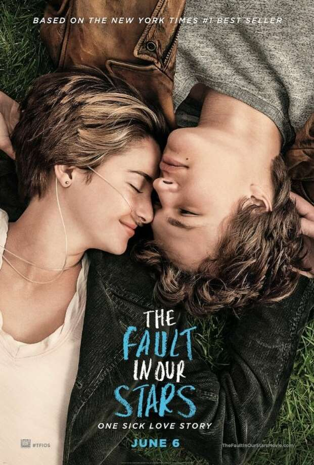 The Fault in Out StarsStarring:Shailene Woodley, Ansel Elgort, Willem DafoeRelease date: June 6Hazel and Gus are two teenagers who share an acerbic wit, a disdain for the conventional, and a love that sweeps them on a journey. Their relationship is all the more miraculous given that Hazel's other constant companion is an oxygen tank, Gus jokes about his prosthetic leg, and they met and fell in love at a cancer support group. Photo: Contributed