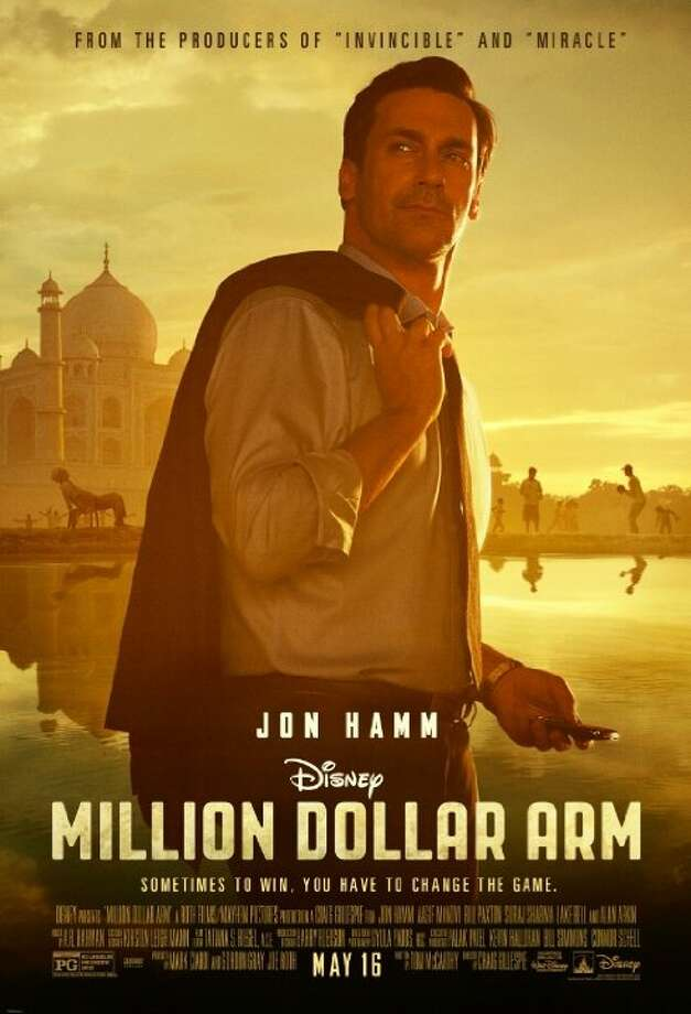 Million Dollar ArmStarring: Lake Bell, Jon Hamm, Bar PalyRelease date: May 16A sports agent stages an unconventional recruitment strategy to get talented Asian cricket players to play Major League Baseball. Photo: Contributed