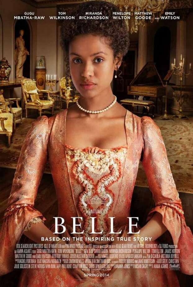 BelleStarring:Gugu Mbatha-Raw, Matthew Goode, Emily WatsonRelease date:May 2An illegitimate mixed race daughter of a Royal Navy Admiral is raised by her aristocratic great-uncle. Photo: Contributed