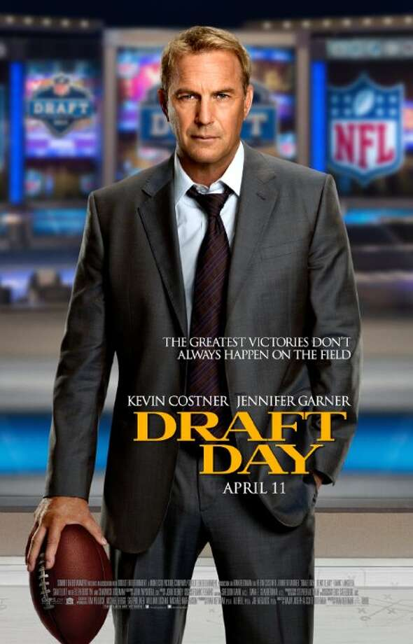 Draft DayStarring:Kevin Costner, Jennifer Garner, Tom WellingRelease date:April 11The General Manager of the Cleveland Browns struggles to acquire the number one draft pick for his team. Photo: Contributed