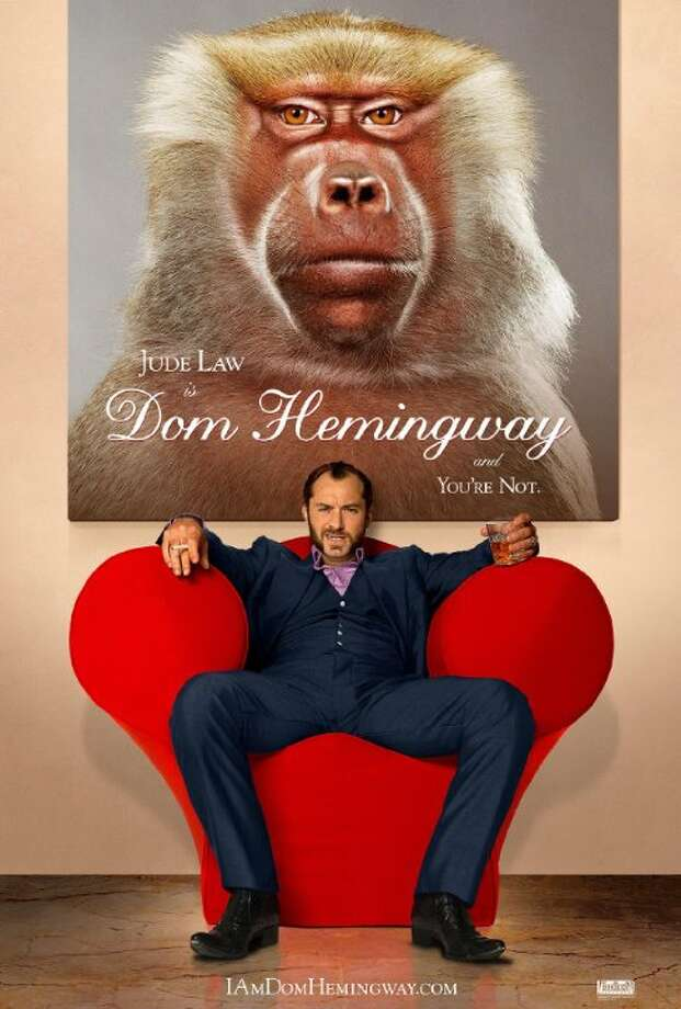 Dom HemmingwayStarring:Emilia Clarke, Jude Law, Richard E. GrantRelease date: April 4After spending 12 years in prison for keeping his mouth shut, notorious safe-cracker Dom Hemingway is back on the streets of London looking to collect what he's owed. Photo: Contributed