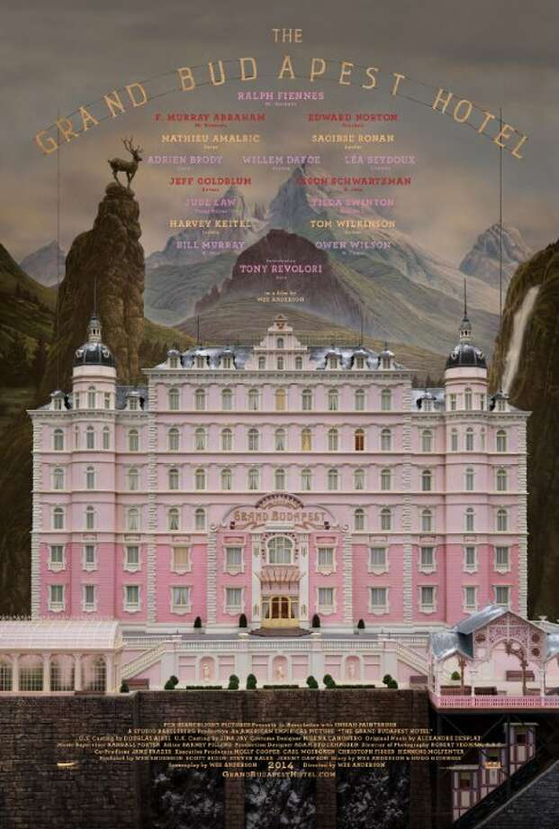 The Grand Budapest HotelStarring: Saoirse Ronan, Ralph Fiennes, Léa SeydouxRelease date: March 7The adventures of Gustave H, a legendary concierge at a famous European hotel between the wars, and Zero Moustafa, the lobby boy who becomes his most trusted friend. Photo: Contributed