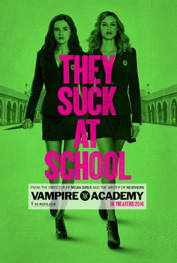 Vampire AcademyStarring:Zoey Deutch, Lucy Fry, Danila KozlovskyRelease date: Feb. 14Rose Hathaway is a Dhampir, half human/vampire, guardians of the Moroi, peaceful, mortal vampires living discretely within our world. Her legacy is to protect the Moroi from bloodthirsty, immortal Vampires, the Strigoi. This is her story. Photo: Contributed