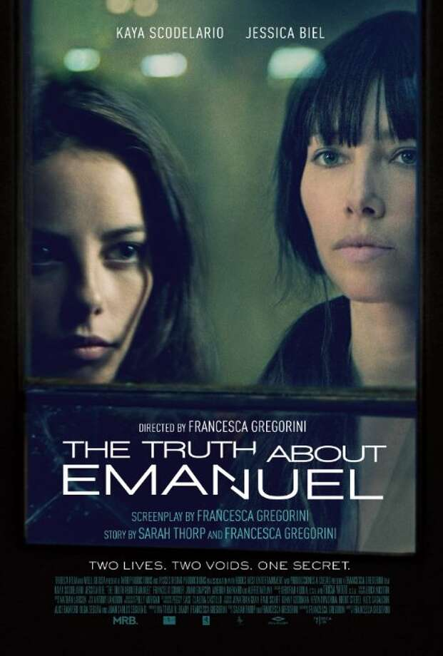 "The Truth About EmanuelStarring: Kaya Scodelario, Jessica Biel, Alfred MolinaRelease date: Jan. 10At its core ""Emanuel…"" is about salvation and redemption. Unable or unwilling to save ourselves, we rise to the challenge to save another and in so doing ultimately save ourselves. ""Emanuel…"" is a tale that unfolds and unravels in secrets; the secrets we keep from each other and the secrets we keep from ourselves (often the most dangerous variety), creating blind-spots that will at best keep us from moving forward, at worst derail us completely. — director Francesca Gregorini Photo: Contributed"