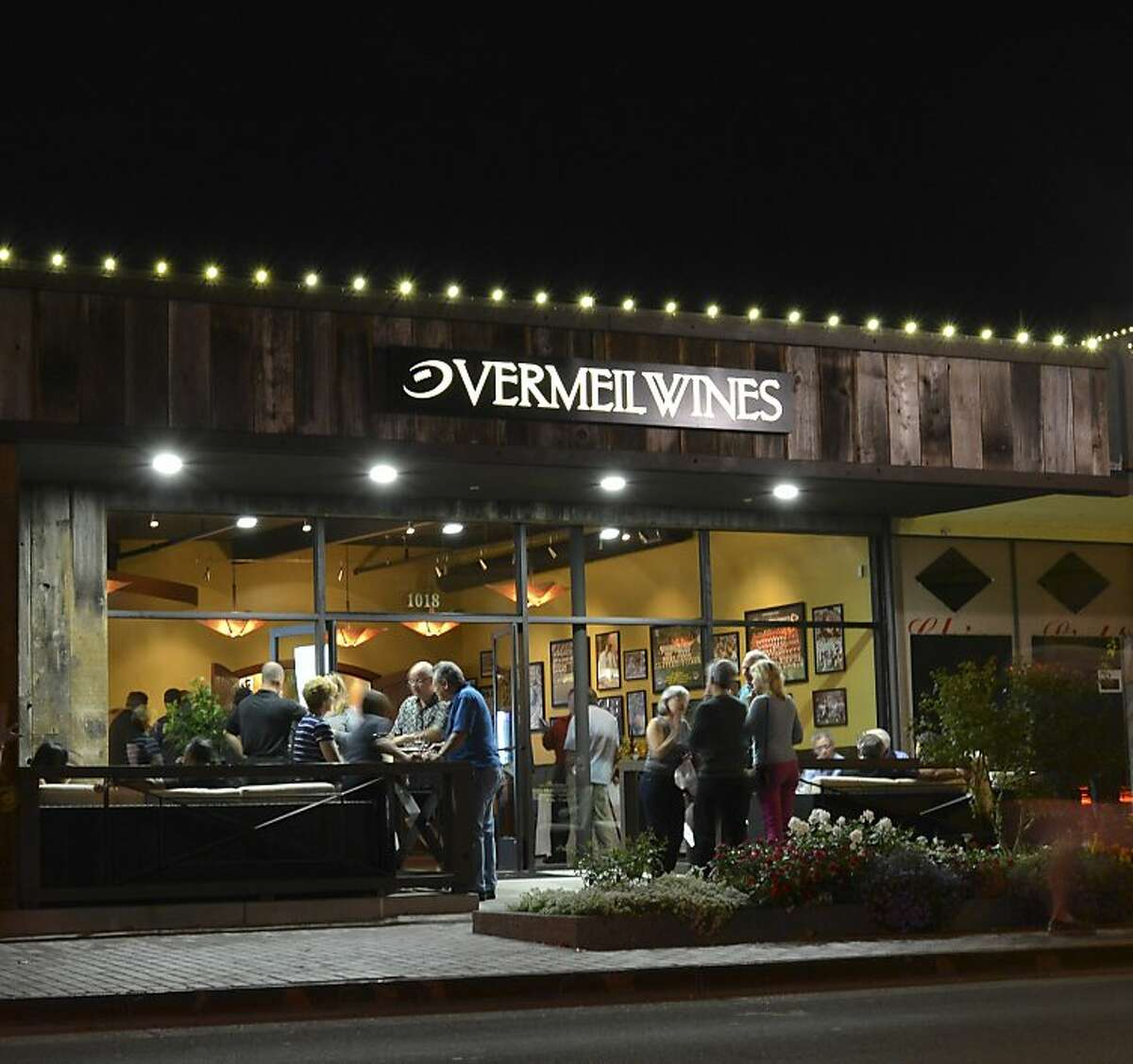 Vermeil Wines opened a satellite salon at First and Main streets in downtown Napa last summer.