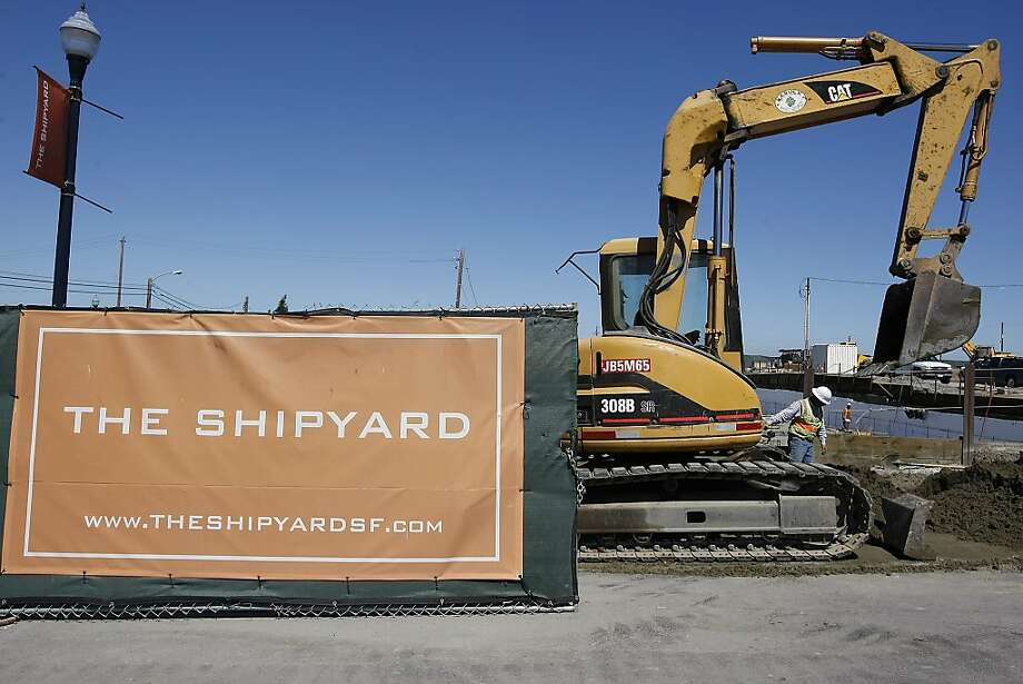 The Hunters Point Shipyard housing development project gets a snappier name. Photo: Michael Short, Special To The Chronicle