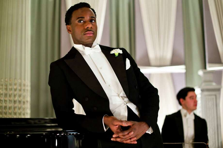 "This photo released by PBS and Carnival Film and Television Limited shows Gary Carr as Jack Ross in a scene from season four of the Masterpiece TV series, ""Downton Abbey."" As it returns for its much-awaited fourth season, it remains a series about elegance, tradition and gentility, and the pressures of preserving them. The show premieres Sunday, January 5, 2014 at 9 pm ET on PBS. (AP Photo/PBS/Masterpiece, Nick Briggs) ORG XMIT: CAET611 Photo: Nick Briggs / PBS"
