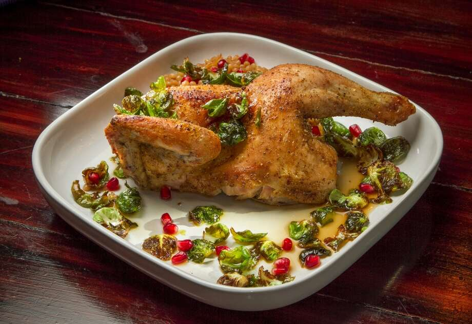The Moroccan half chicken at Mockingbird in Oakland. Photo: John Storey, Special To The Chronicle