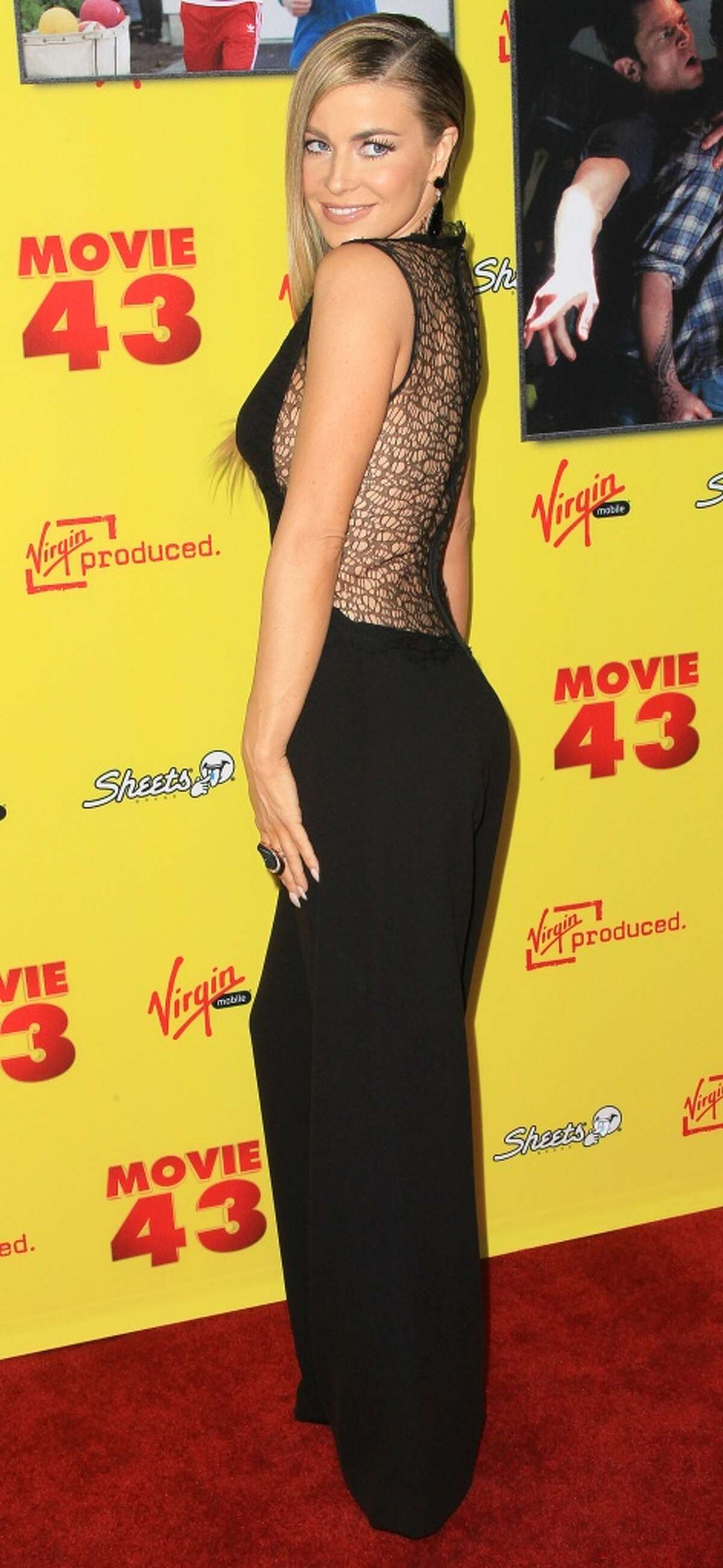 Actress Carmen Electra January 23, 2013 in Hollywood, California.