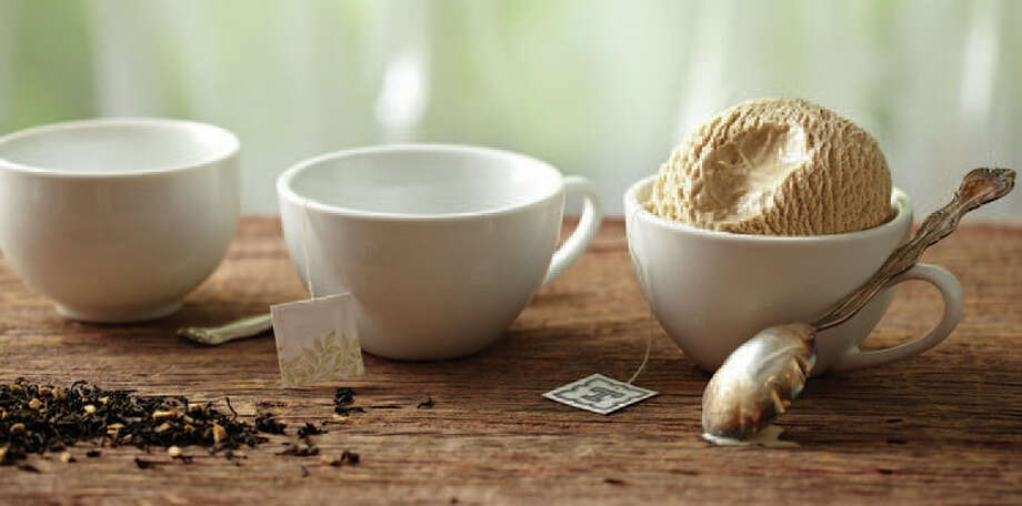 Masala Chai is one of the tea-infused ice creams made by Tea-Rrific Ice Cream. Photo: Paul Johnson / Fairfield Citizen contributed