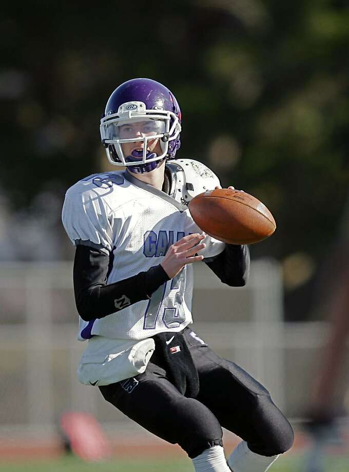 Galileo QB Kyle Nelson accounted for an area-best 58 touchdowns in 2013. Photo: Ernie Abrea, Maxpreps