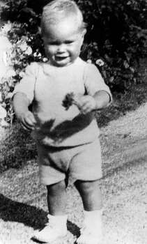 George H.W. Bush is pictured when he was one and a half year old.  Photo: AFP, AFP/Getty Images / 2012 AFP