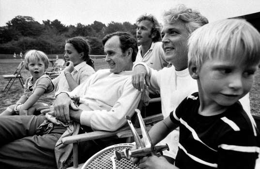 Then-ambassador George Bush and family. Photo: Leonard McCombe, Time & Life Pictures/Getty Image