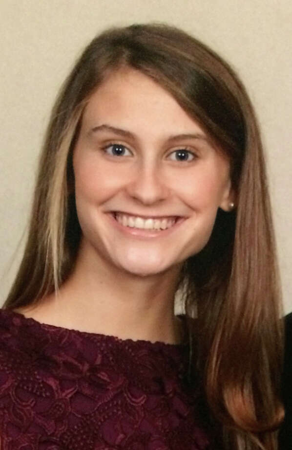 Convent of the Sacred Heart junior Grace Isford created the  College Twitter Happiness Index. Photo: Contributed Photo / Greenwich Time contributed