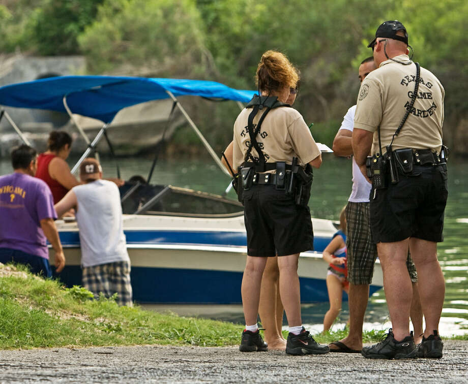 Routine boater safety checks by game wardens can prevent accidents and drowning or lead to a boating while intoxicated arrest. Photo: For The Express-News