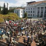 """Answer 34:Berkeley. Some believe the slogan applies only to the university. We'll  also accept Lexington, Ky. It was using that slogan back when Kentucky  was considered """"west."""" Pictured, University of California, Berkeley."""