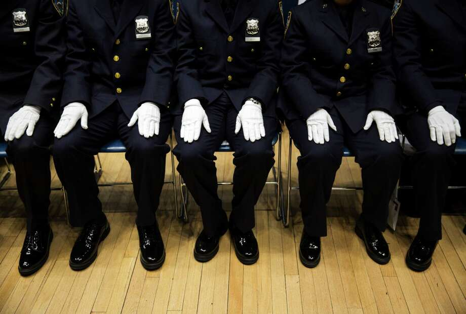 5. Police officerAnnual median salary: $51,063 Photo: DAMON WINTER / Damon Winter/The New York Times