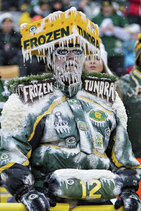 Even hardy Packers fans accustomed to frigid weather are finding Sunday's game a tough sell with the high temperature that day forecast to be minus-3. There were 3,000 tickets remaining Thursday. The wild-card games in Cincinnati and Indianapolis also were in danger of not selling out in time to avoid local television blackouts. Photo: Wesley Hitt, Stringer / 2013 Getty Images