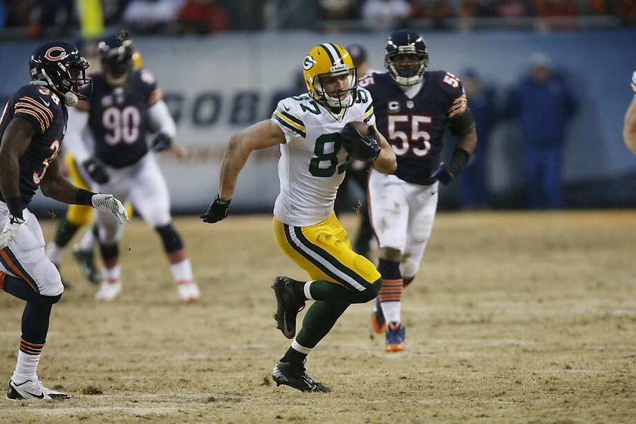 Jordy Nelson was one of the Packers' offensive players who stayed healthy this season, catching 85 passes for 1,314 yards. Photo: Charles Rex Arbogast, Associated Press