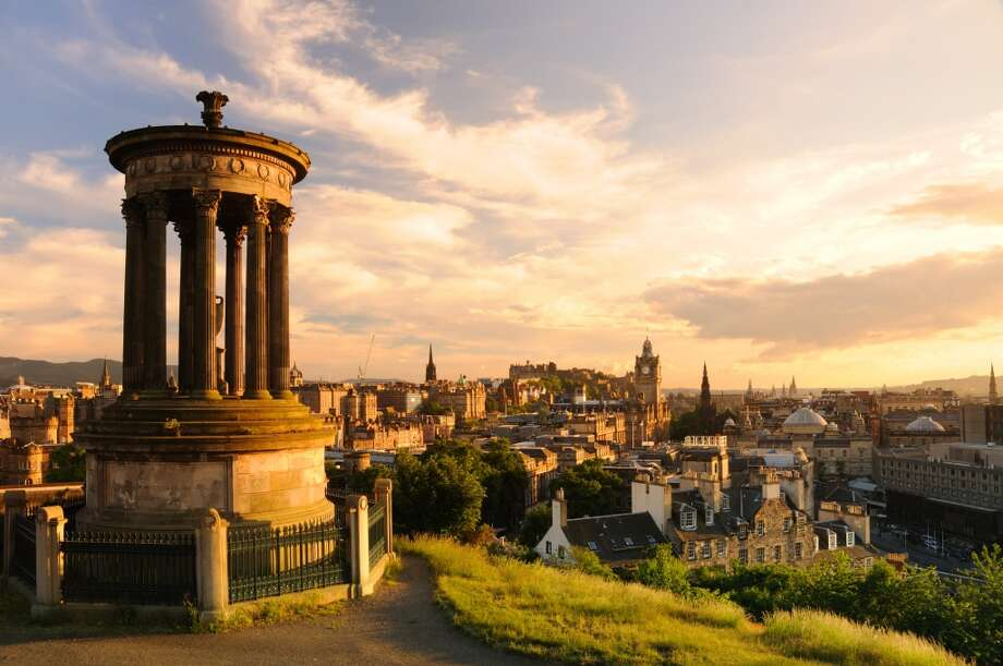 6. Edinburgh, Scotland. Many attractions in this political and cultural capital (seen from Calton Hill) are free, from the Scottish National Gallery of Modern Art to tours of the Scottish Parliament. Photo: Chris Hepburn, Getty Images/Vetta