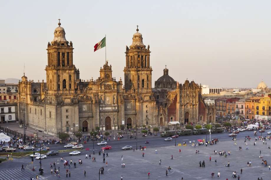 4. Mexico City. Increased police presence (one officer per every 100 citizens) makes the capital a safer bet for 2014, according to ShermansTravel.com. Among the city's affordable attractions are sightseeing at the Metropolitan Cathedral (pictured) and the recently  opened Museo Jumex, devoted to contemporary art with tickets from $2.30. Photo: Jeremy Woodhouse, Getty Images