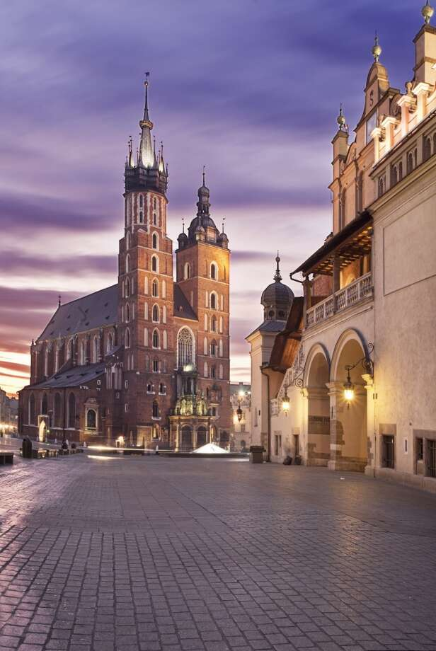 3. Krakow, Poland. Four-star hotels cost as little as $110 a night and full-service apartments only $64 a night a night in this recently designated UNESCO City of Literature, according to ShermansTravel.com. Krakow is also home to many art and cultural events as well as charming historic architecture in  Old Town. Photo: All Rights Reserved - Copyright, Getty Images/Flickr RF