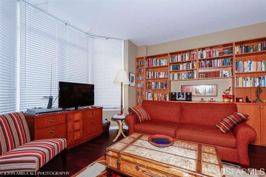 Spacious living room.  Photos: MLS/Bert Benisch, BHG Mason-McDuffie Real Estate