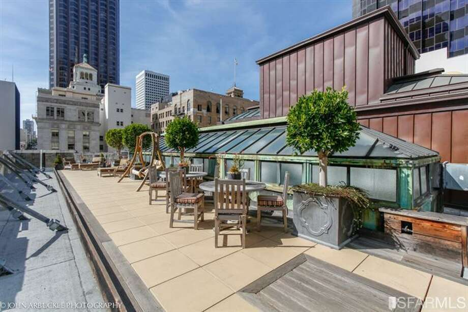 Roof deck to share.  Photos: MLS/Bert Benisch, BHG Mason-McDuffie Real Estate