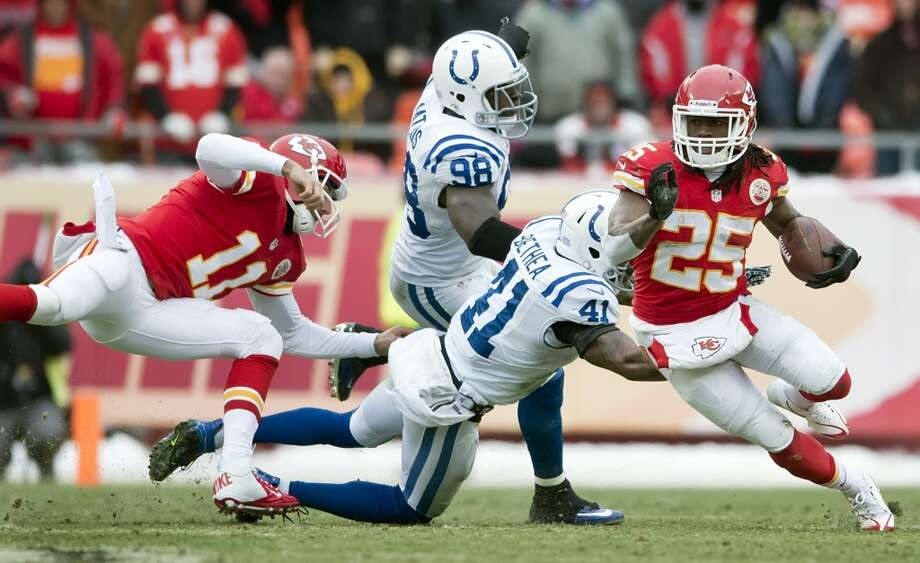 Kansas City (11-5) plus-2 at Indianapolis (11-5): Colts 24-23 Photo: David Eulitt, McClatchy-Tribune News Service