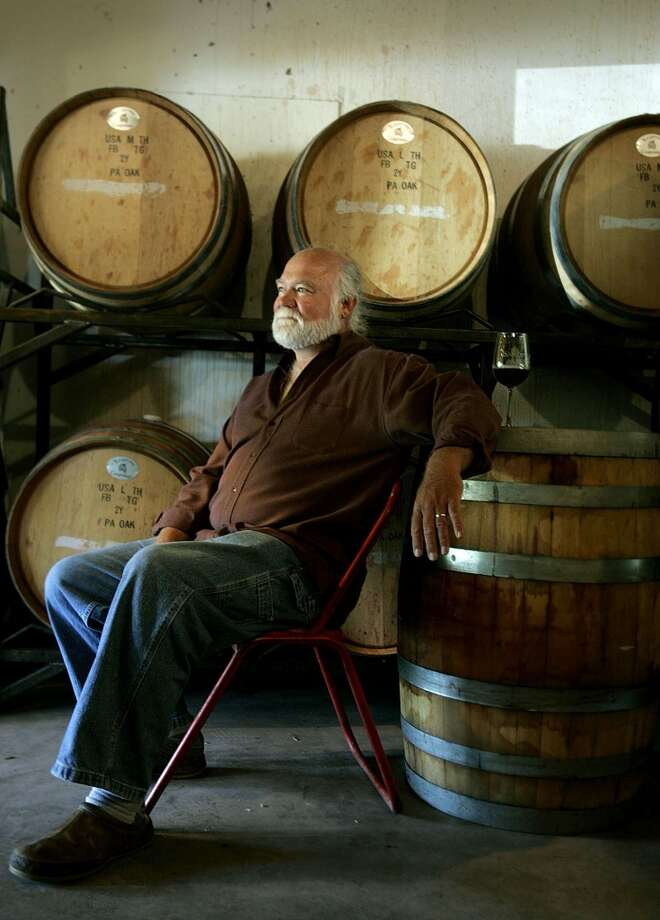 TASTE - Sandstone Cellars of Mason County Wine Maker Don Pullum and his wine barrels in Mason, Texas. Photo: KEVIN GEIL, SAN ANTONIO EXPRESS-NEWS