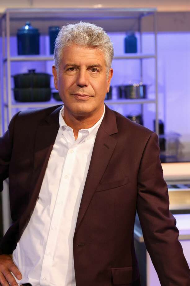 "ABC's ""The Taste"" features  outspoken and witty chef Anthony Bourdain. Photo: Craig Sjodin, ABC"