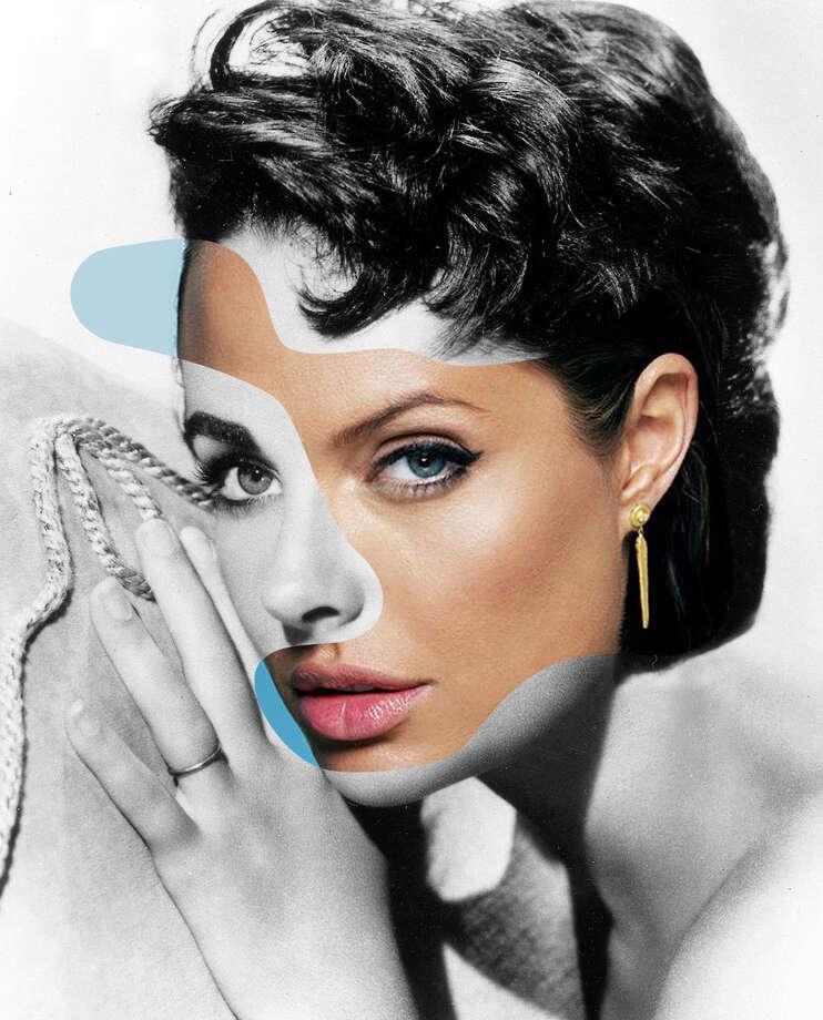 Angelina Jolie and Elizabeth Taylorhttp://www.georgechamoun.com/