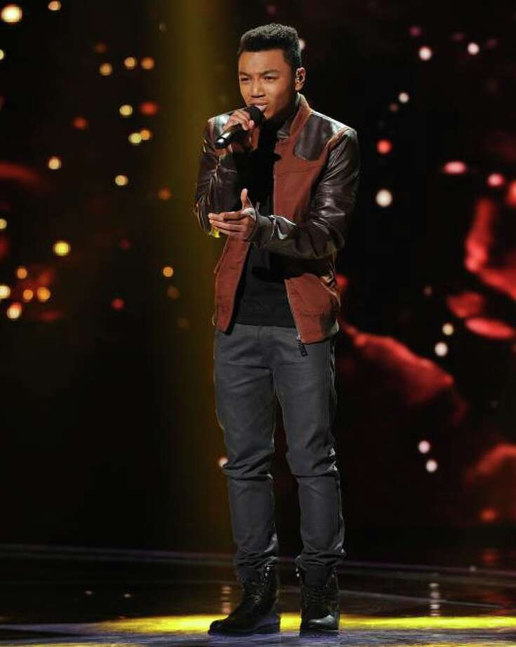 THE X FACTOR: Josh Levi sings to advance to the final 7 on THE X FACTOR airing Thursday, Nov. 28 (8:00-9:00 PM ET/PT) on FOX. CR: Ray Mickshaw/ FOX.