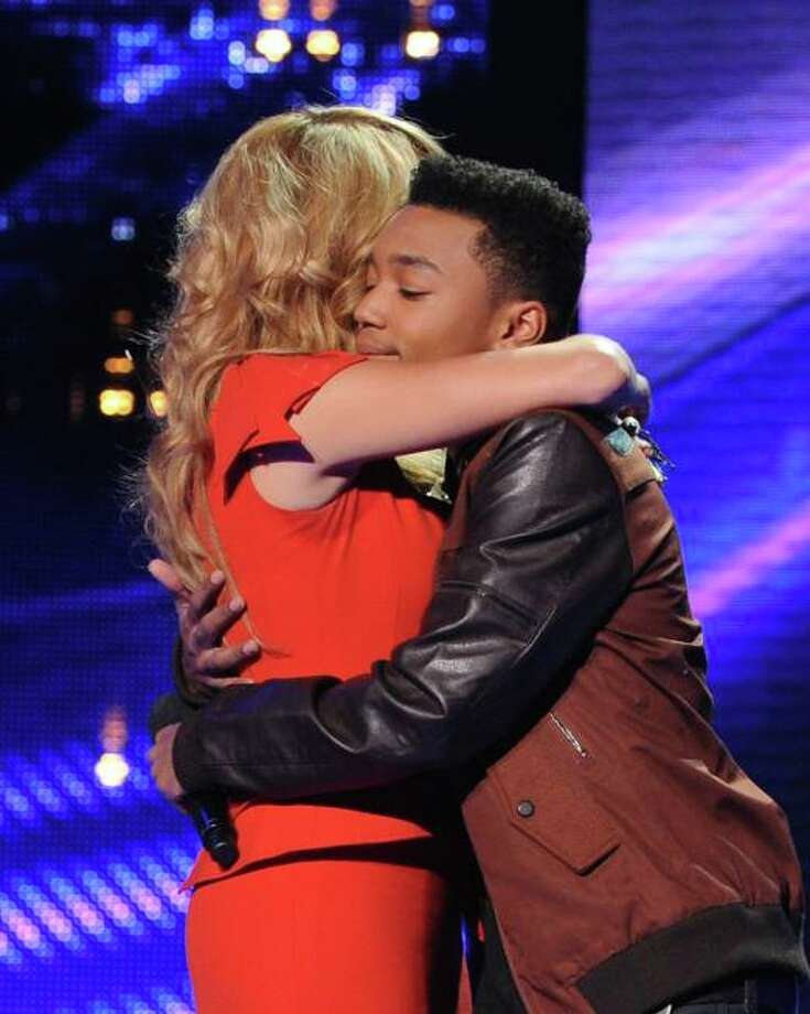THE X FACTOR: Josh Levi is eliminated on THE X FACTOR airing Thursday, Nov. 28 (8:00-9:00 PM ET/PT) on FOX. CR: Ray Mickshaw/ FOX.