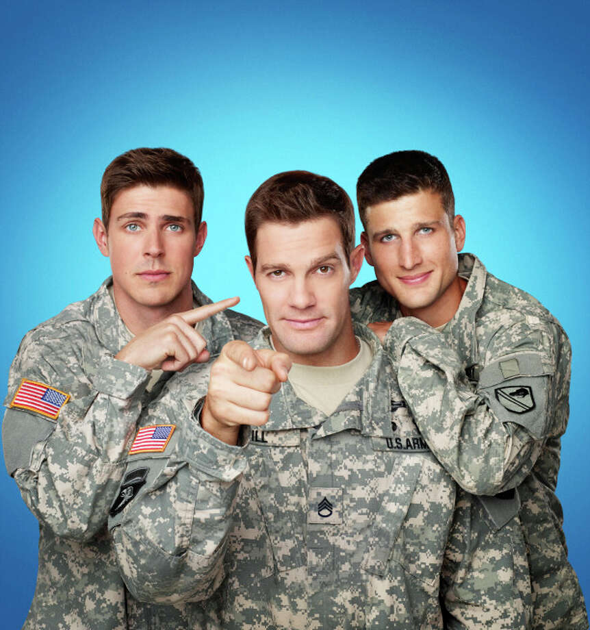 The new Fox comedy 'Enlisted' premieres Friday, January 10th. / 1