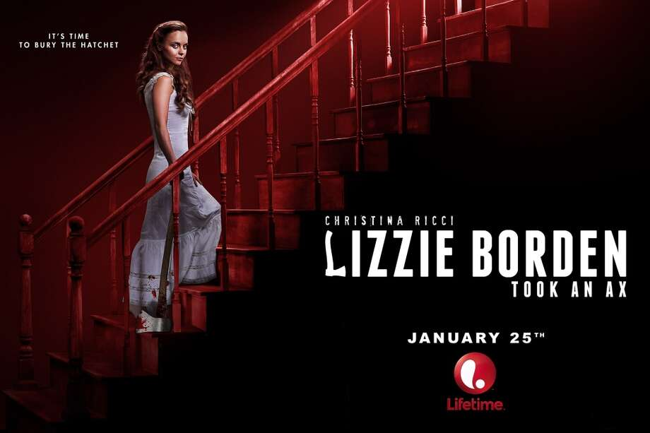 Christina Ricci stars in 'Lizzie Borden Took an Ax' on Lifetime on Saturday, January 25th.