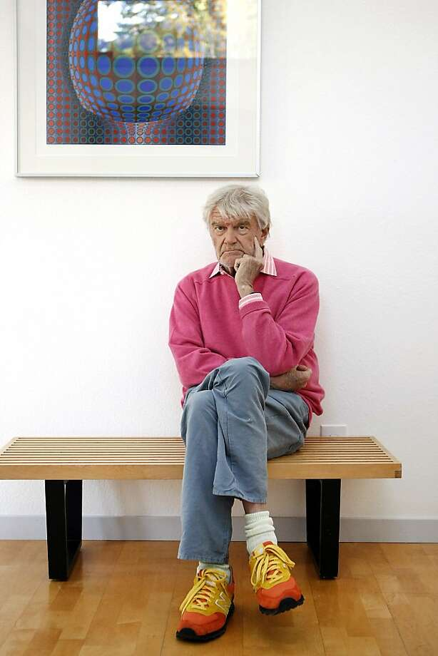 Hartmut Esslinger, a celebrity in Germany when he joined Apple in 1982, details his work with Steve Jobs in a book. Photo: Michael Short, The Chronicle