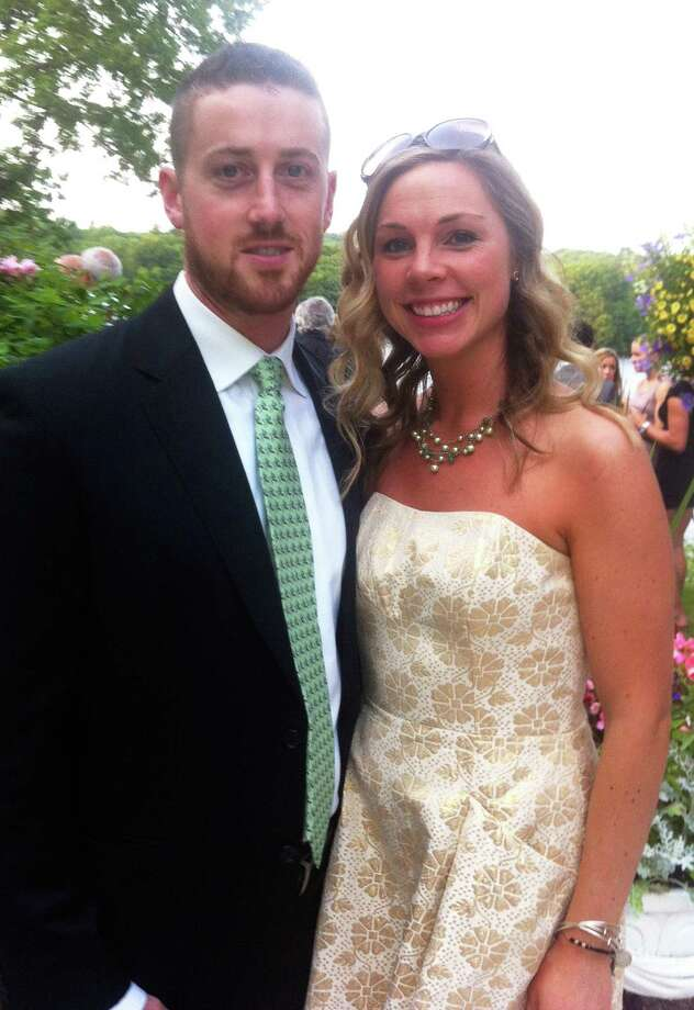Samantha Elsy and Ryan McGovern. Fairfield CT. January 2014. Photo: Contributed Photo / Fairfield Citizen contributed
